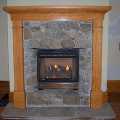 Ideas Decorating With Modern Flame Fireplace Mantel - Karbonix