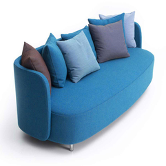 Ideas For Living Room Blue Couches - Karbonix