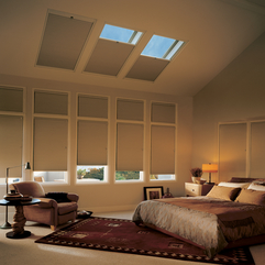 Ideas With Three Skylight Venting Modern Bedroom - Karbonix