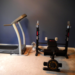 Inside The House Small Gym - Karbonix