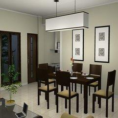 Inspirational Tasteful Minimalist Dining Room Daily Interior - Karbonix