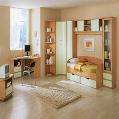 Inspiring Ultramodern Beige Kids Bedroom Design With Natural - Karbonix
