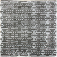Interconnection Modern Geometric Rug J25187 - Karbonix