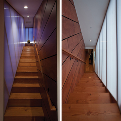 Best Inspirations : Interior Attractive Striking Home Interior Design Wooden Stairs - Karbonix