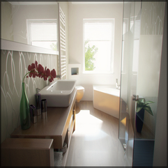 Interior Comfortable Contemporary Bathrooms Modern Design 2013 - Karbonix