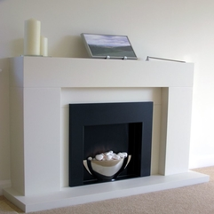 Interior Contemporary Fireplace Mantels And Surrounds Ideas - Karbonix