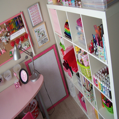 Interior Craft Room Studio For Your Items In Your House Pink - Karbonix