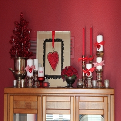 Interior Design Ideas Exciting Valentines Home Wood Mantel - Karbonix