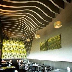 Interior Design Rosso Restaurant - Karbonix