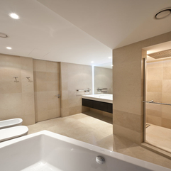 Interior Design With Bathtub Modern Bathroom - Karbonix