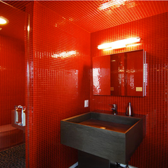 Interior Engaging Futuristic Small Bathroom Decoration - Karbonix
