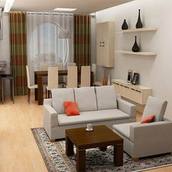 Interior Fascinating Creative Dining Living Room Interior - Karbonix