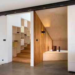 Best Inspirations : Interior Natural Living With Stone Wood Home In Melbourne - Karbonix