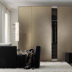 Italian Brown Walk In Wardrobes Design In Modern Style - Karbonix
