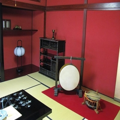 Japanese Interior Designer Hot Red - Karbonix