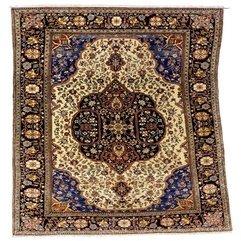 Kashan Rugs A Mohtashem Kashan Carpet C 1900 Sotheby 39 S Lot 363 - Karbonix