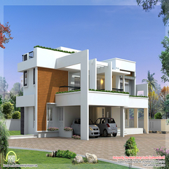 Kerala Home Design Floor Plans Magnificent - Karbonix