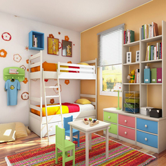 Kids Colorful Bedroom - Karbonix