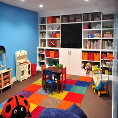 Kids Playroom That Gives The Imagination To Kids With Colorful - Karbonix