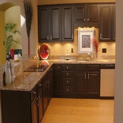 Kitchen Cabinet Refacing Dark Brown - Karbonix