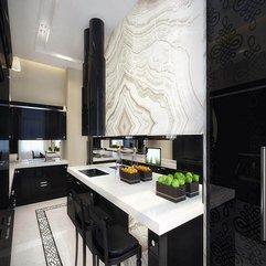Kitchen Cabinets Minimalist Black - Karbonix