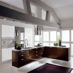 Kitchen Design Modern White - Karbonix