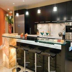Kitchen Design With Glass Desk Free - Karbonix