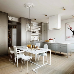 Kitchen Fancy Stylish Scandinavian Kitchen Design Ideas - Karbonix