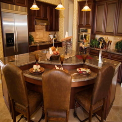 Kitchen Remodel With Classical Seat Design A - Karbonix