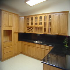 Kitchen Style Design With Natural Wood In Modern Style - Karbonix