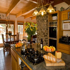 Kitchen Walls With Dining Table Color - Karbonix