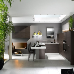 Kitchen With Natural Lighting White Beautiful - Karbonix