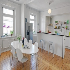 Kitchen With Scandinavian Style Designing - Karbonix