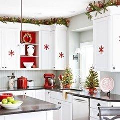 Kitchen With White Kitchen Cabinet Looks Fancy - Karbonix