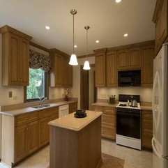 Kitchen With Wood Cabinets Designing My - Karbonix
