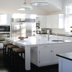 Kitchens With Marble Countertops Wonderful Elegant - Karbonix