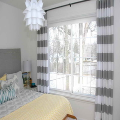 Layered Curtain Ideas With Stripped Design Different Choices - Karbonix