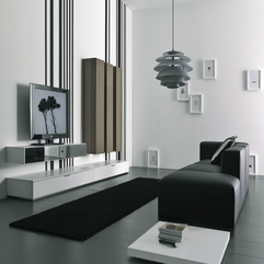 Leather Sofa With Modern White Tv Table Chic Gray Chandelier In Gray - Karbonix