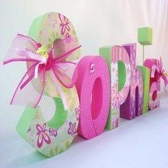 Letters Cute Wooden - Karbonix