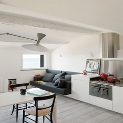Limited Space Creative Small Apartment Design The Harbor Attic - Karbonix