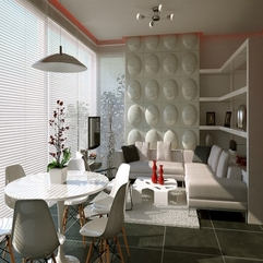 Living Dining White Simply Modern - Karbonix