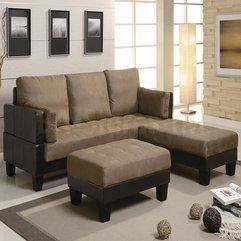 Living Room Contemporary Grey Fabric Three Head Seats Black Wood - Karbonix