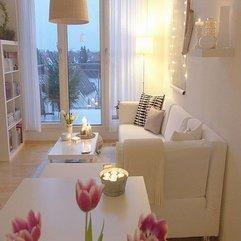 Living Room Design Light White - Karbonix