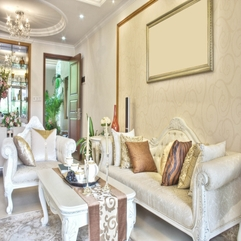 Living Room Interior Ideas Sweet White - Karbonix