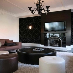 Living Room Table Sets Black Modern - Karbonix