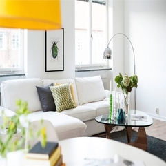 Best Inspirations : Living Room With White Sofa Design Looks Fancy - Karbonix