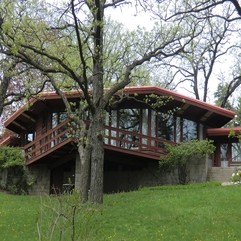 Lloyd Wright Style Home Plans Warmth Frank - Karbonix