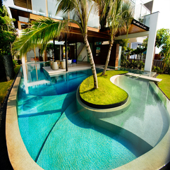 Looking Design Of Swimming Pool At Home Best Good - Karbonix