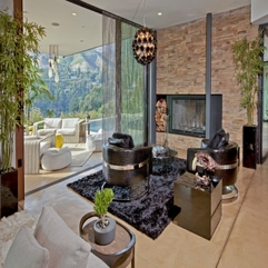Loung With Fuzzy Carpet Facing Outside Views Creative - Karbonix