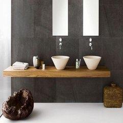 Luxurious Bathroom Sinks Design Idea With Retro Ornament Picture - Karbonix
